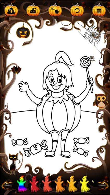 Kidoko Halloween Paint screenshot-3