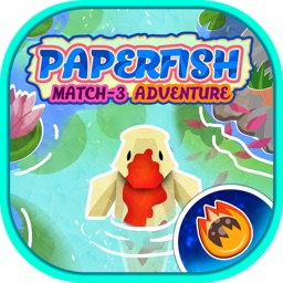 Paper Fish: Match-3 Adventure
