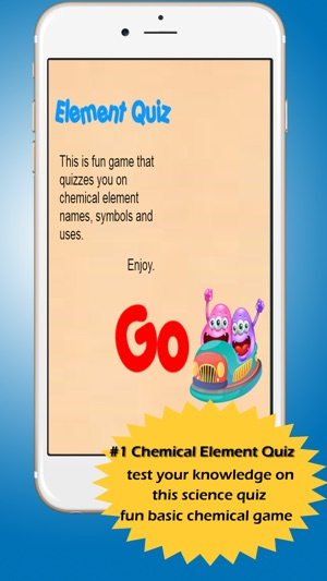 Periodic Table Chemical Element Symbols Quiz On The App Store