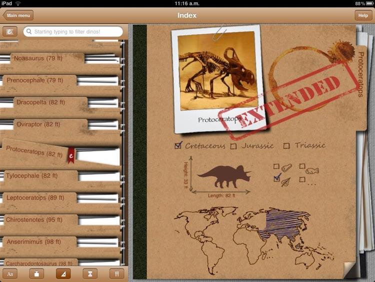 Dinosaur Book HD Lite: iDinobook screenshot-4