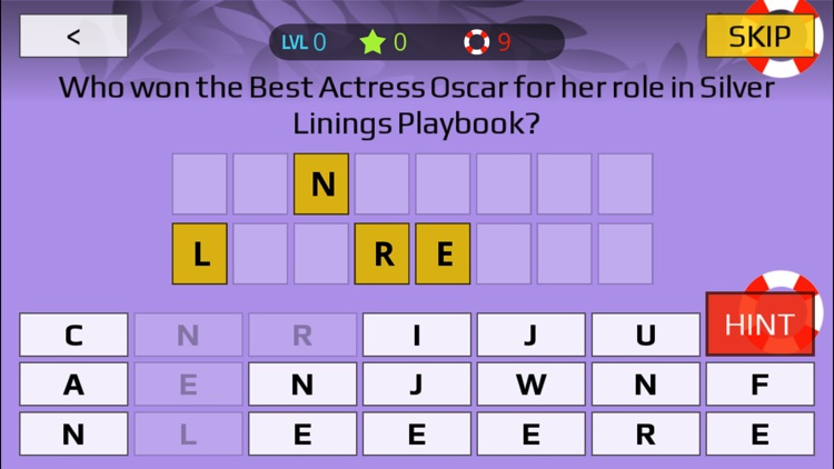 Oscar Winners Trivia