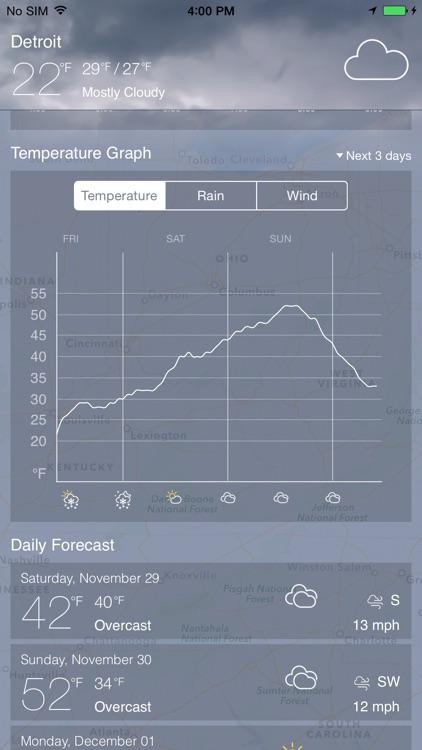 Weathėr Radar screenshot-4