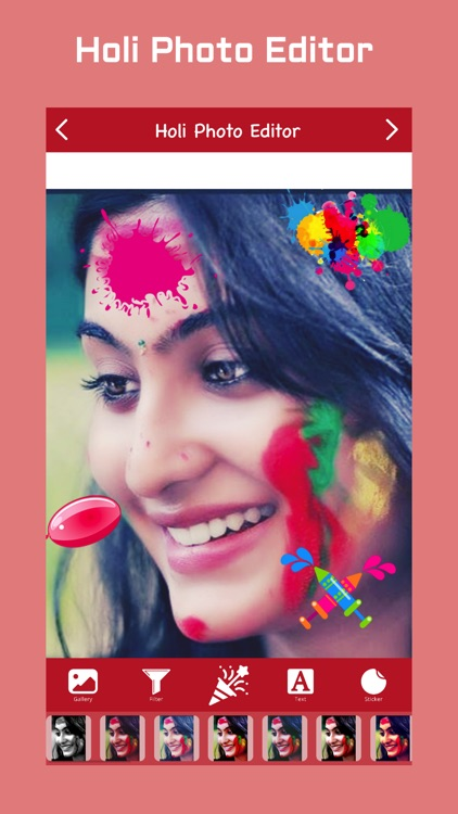 Holi Photo Editor screenshot-2