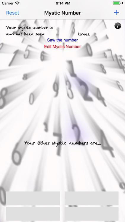 Mystic Number