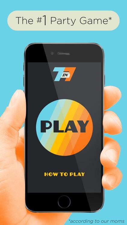 7 in 7: Pop Culture Party Game screenshot-0