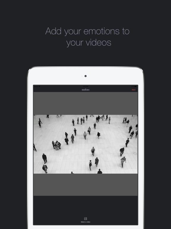 Emotions - Video Editor Screenshots