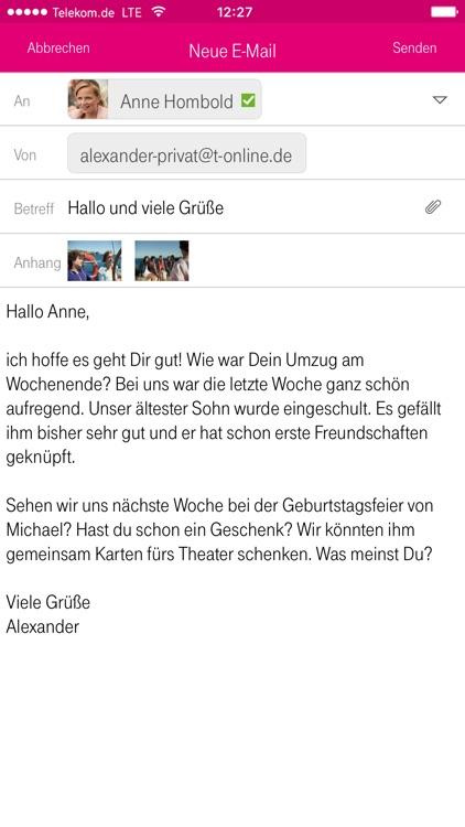 Telekom Mail screenshot-4