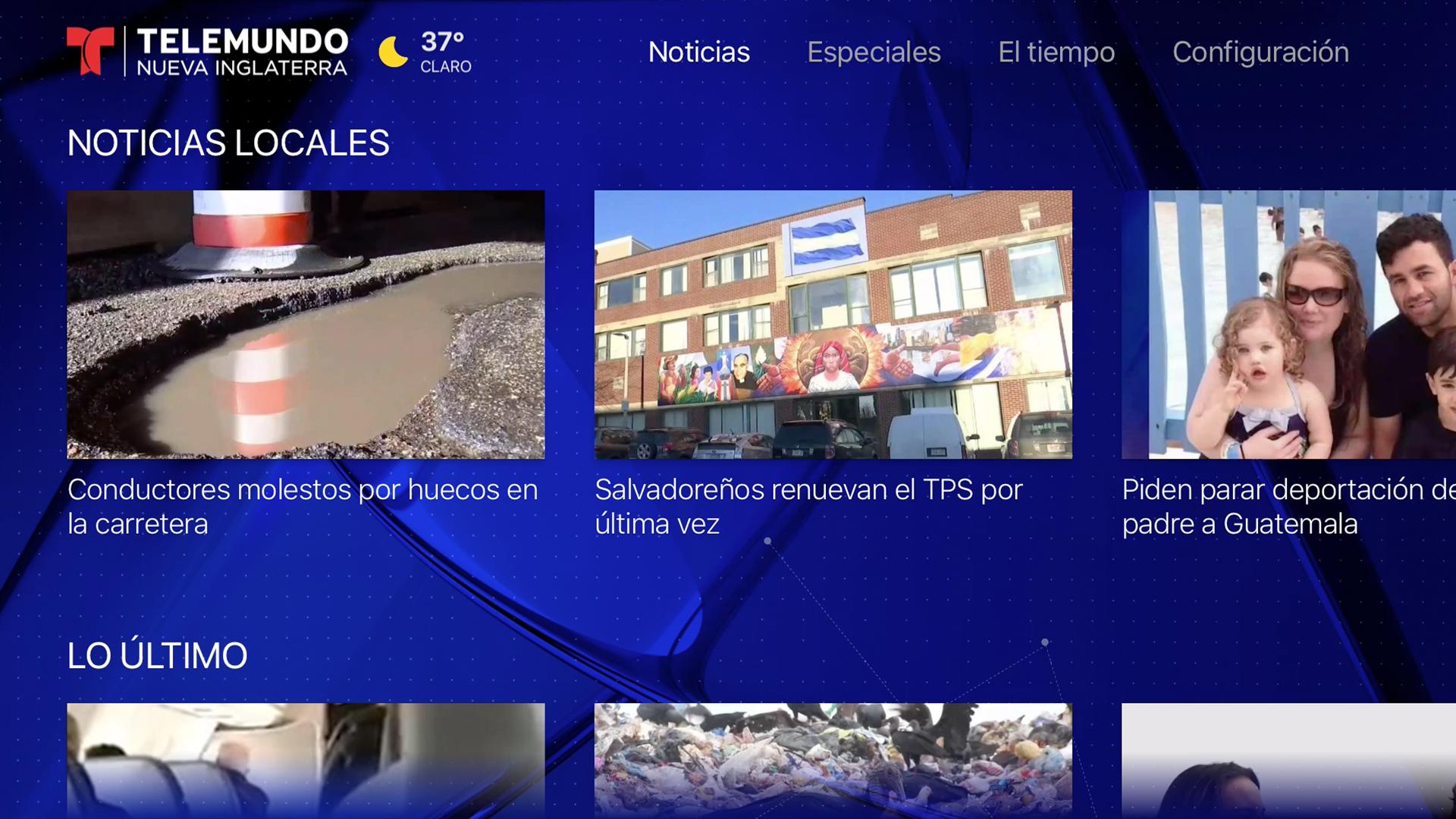 Telemundo Nueva Inglaterra screenshot 15