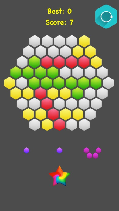 !Hexagonal Merge - Premium screenshot 1