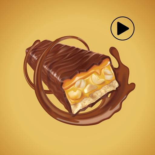 Animated Chocolate Stickers