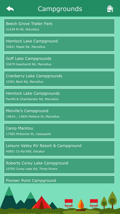 Michigan Camping screenshot-4