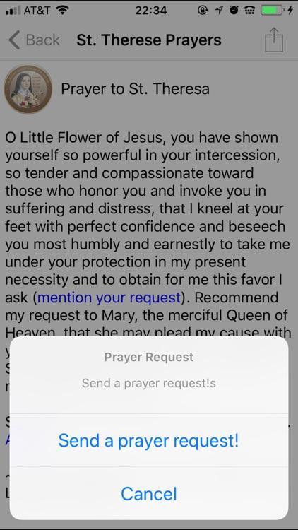 Saint Therese Prayers