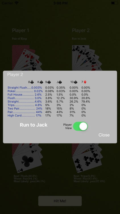 Odds4Poker - 7-Card Stud screenshot-5