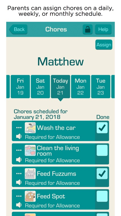 Allowance & Chores Bot screenshot-3