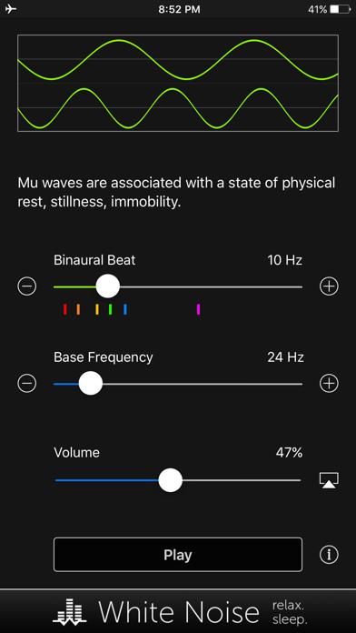 Binaural Beats Generator + screenshot 2