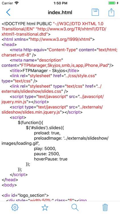 FTPManager Pro screenshot-3