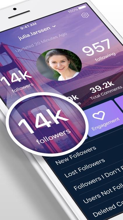 InstaSecrets - Followers Analytics for Instagram