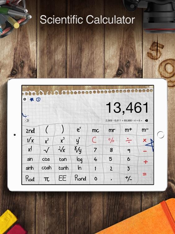 Calculator Pro+ for iPad.