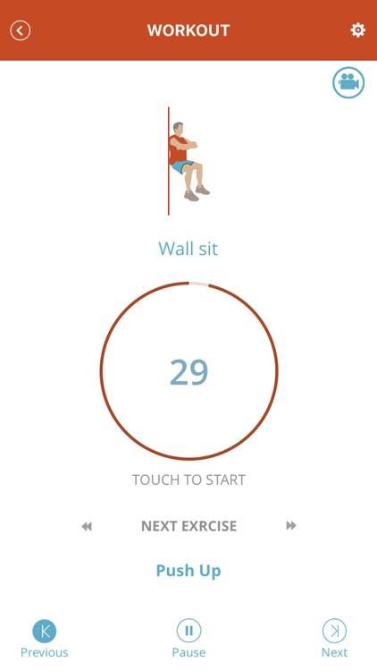 3 Minute Workout - Fitness App screenshot-3