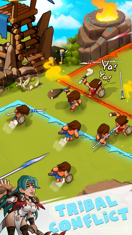 Tribes Age: Rise of Caveman screenshot-4