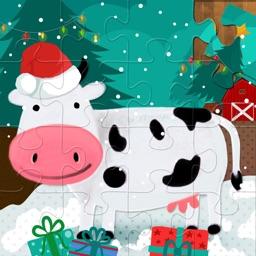 Kids Jigsaw Puzzles: Farm