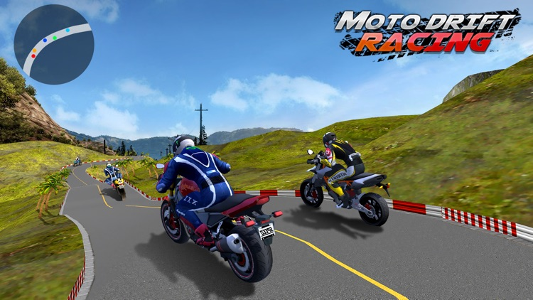 Motorcycle Drift Racing
