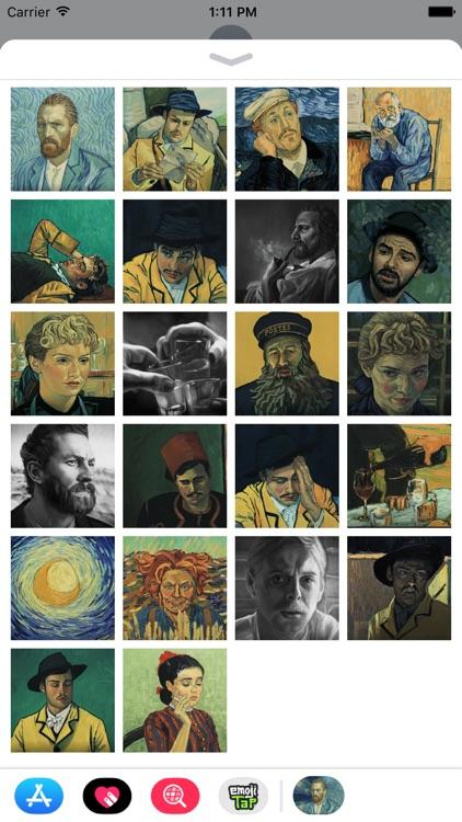 Loving Vincent Animations