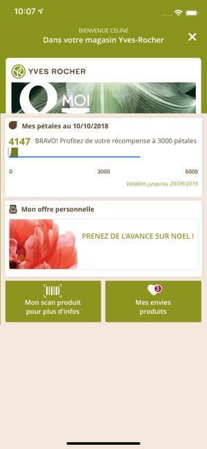 bad3aacb24  Yves Rocher & MOI dans l'App Store