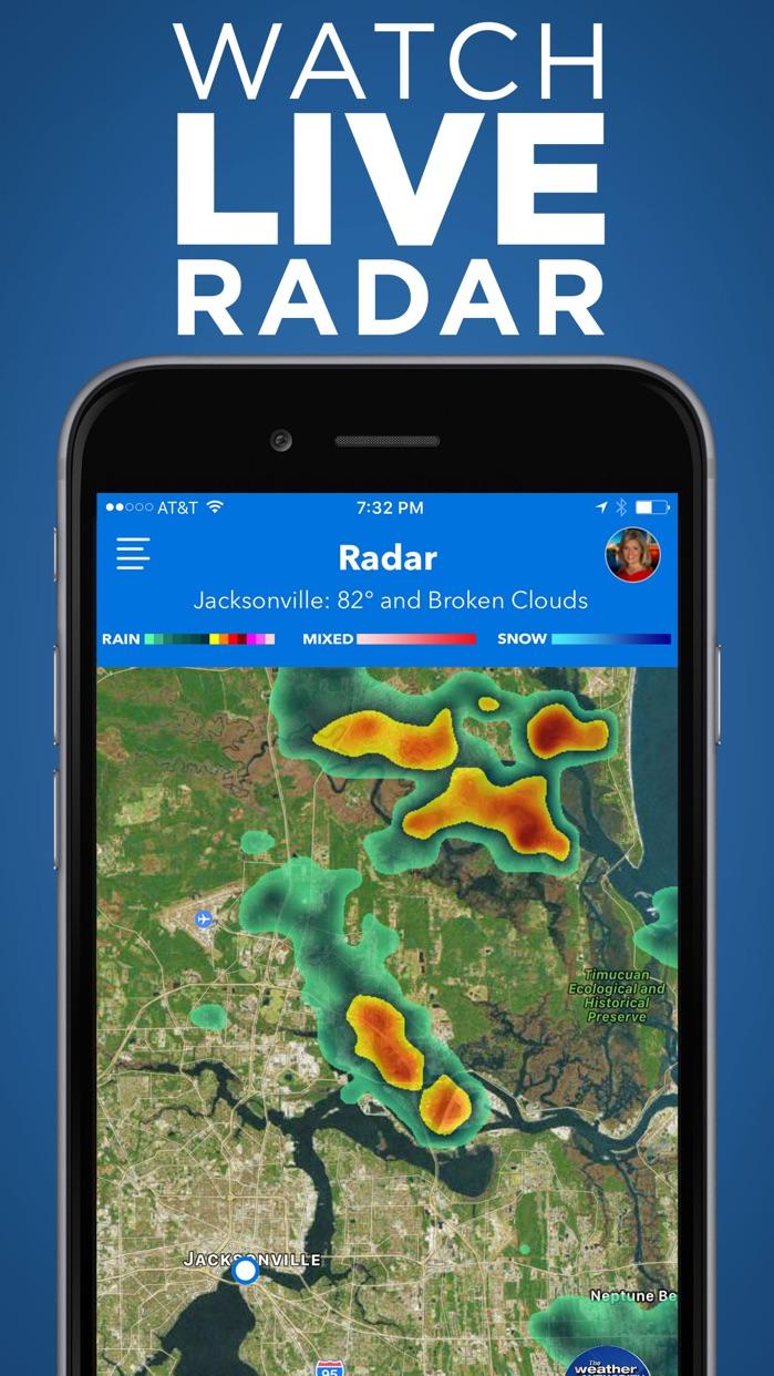 News4Jax Weather Authority Screenshot