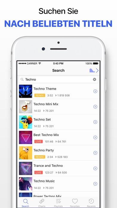 Screenshot for Musik Player ohne Grenzen in Austria App Store