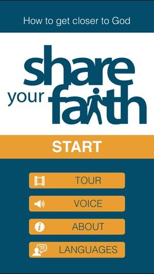 Share Your Faith on the App Store