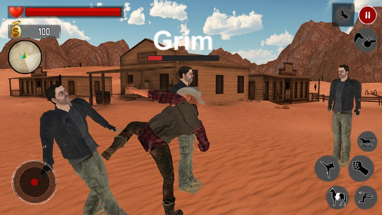 Wild West Gang Cowboy Rider screenshot-3
