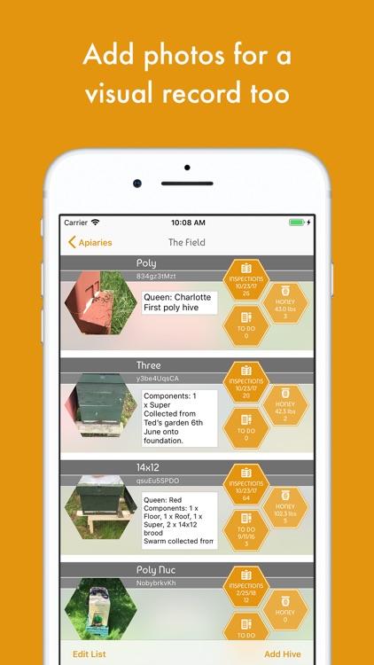 BeePlus Beekeeping Manager screenshot-4
