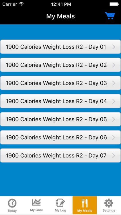 GenoVive Diet and Fitness Tracker screenshot-3
