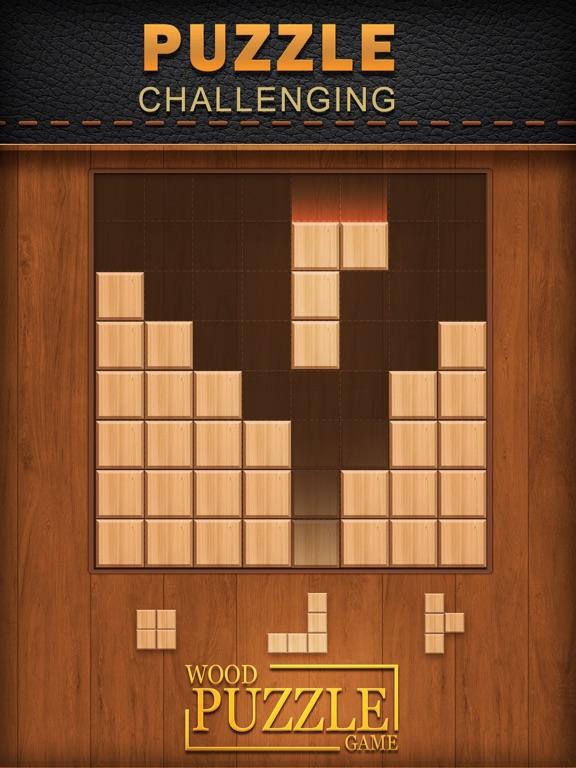 Деревянная головоломка на iPad