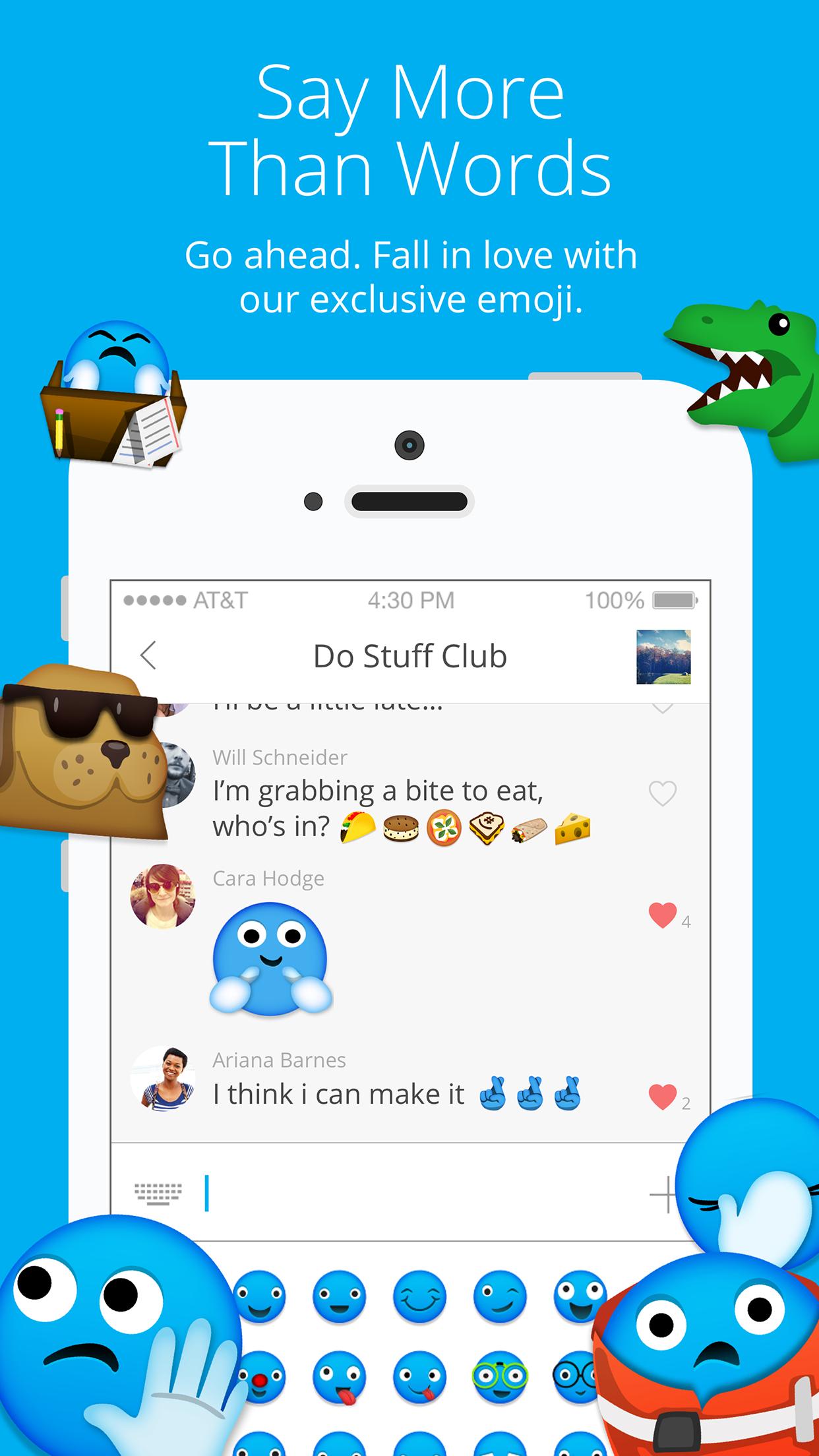 GroupMe Screenshot