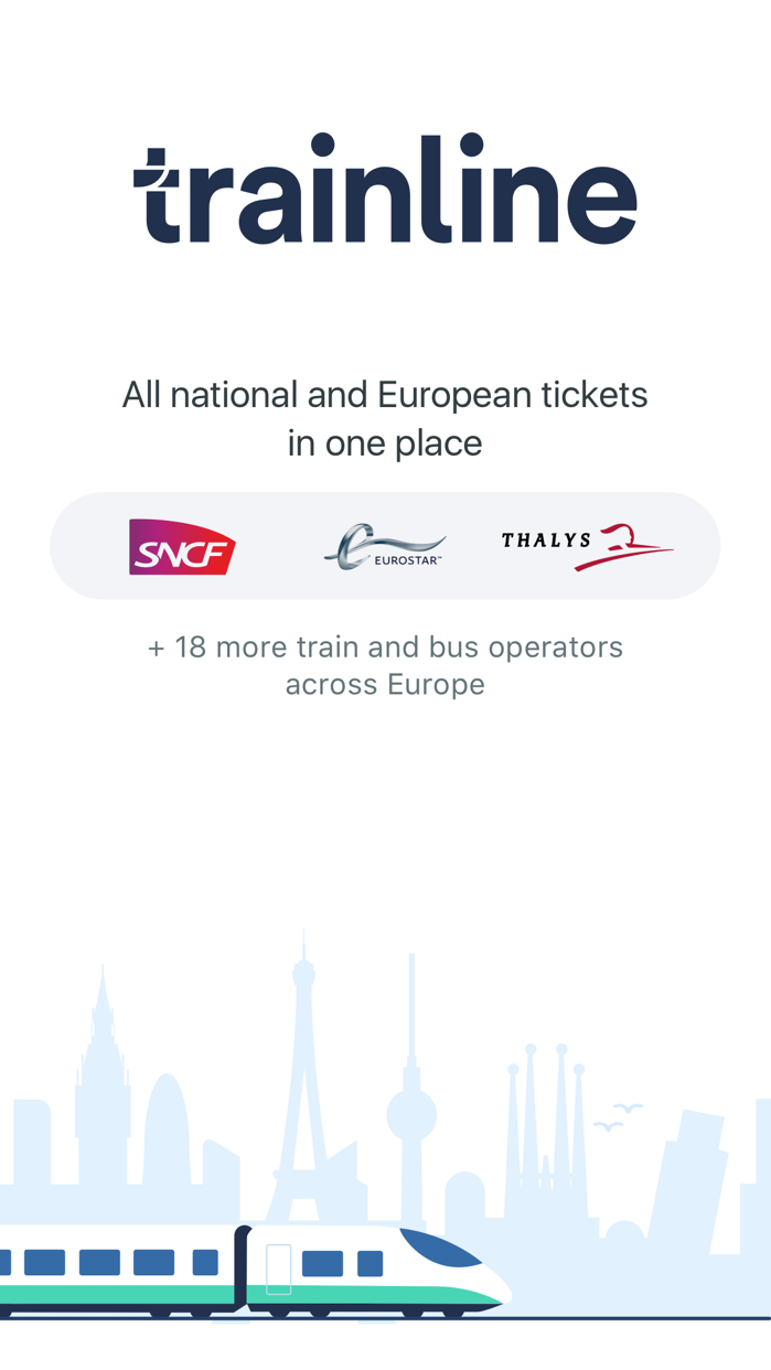 Trainline Europe Screenshot