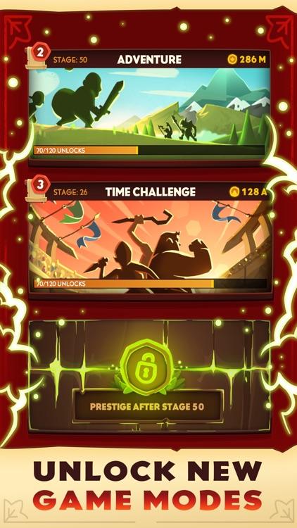 Almost a Hero - Clicker RPG screenshot-3