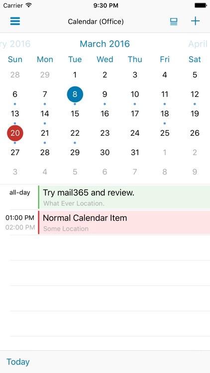 Mail365 Mail Calendar Tasks By Mohammed E Anwar