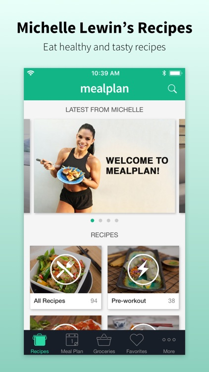 Mealplan by Michelle Lewin