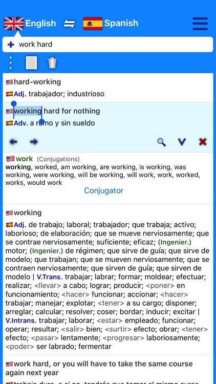 Dictionary Plus (Spanish) screenshot-3
