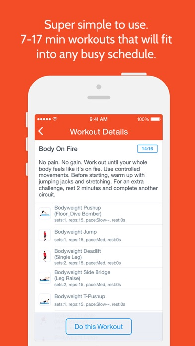Instant Abs: Workout Trainerのおすすめ画像5