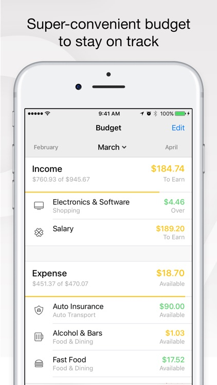 Money - Budget & Finance screenshot-3