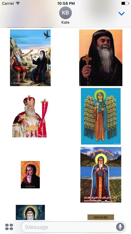 Coptic Saints Stickers screenshot-3