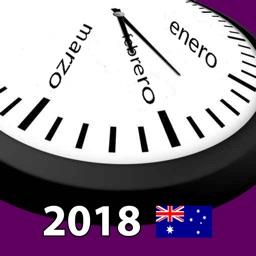 2018 Australia Calendar