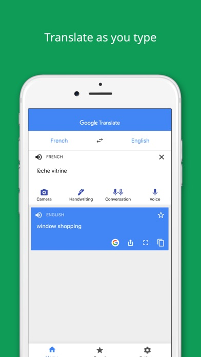 Screenshot for Google Translate in Canada App Store