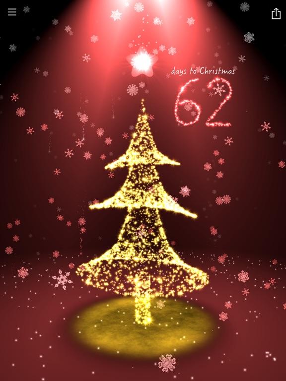 Screenshot #1 for Christmas Countdown 3D Tree ...