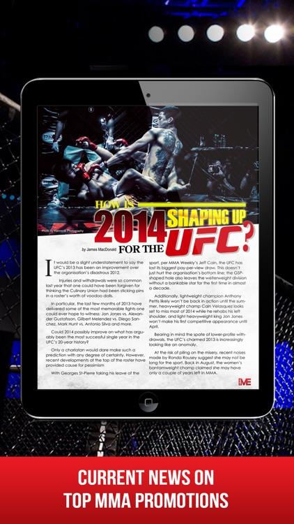 MMA Main Event Magazine screenshot-3