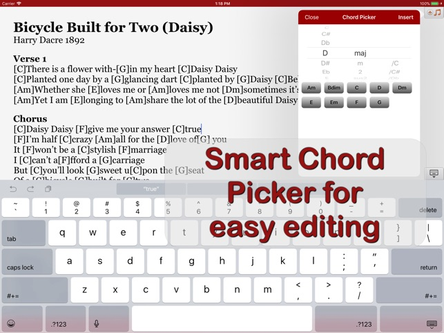 MySongbook - Lyrics and chords on the App Store