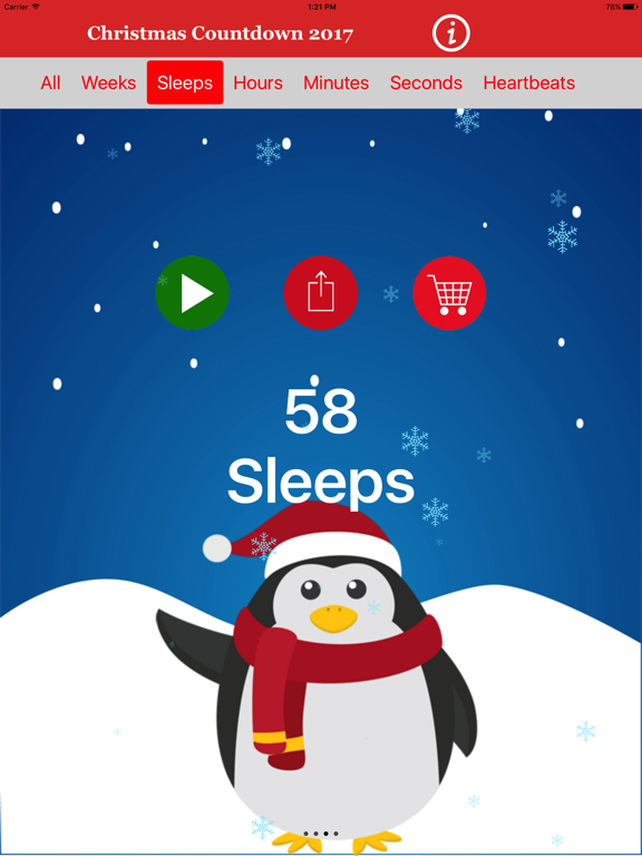 How Many Weeks To Christmas 2019.Christmas Countdown 2019 App Price Drops